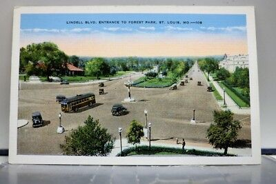 Missouri MO Forest Park St Louis Postcard Old Vintage Card View Standard Post PC