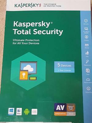 McAfee Total Protection 20175 Devices1 Year