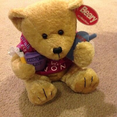 "AVON ""Gabbiegail"" Beary Beautiful bear Collection New Rare"
