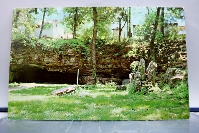 Missouri MO Doling Park Cave Springfield Cave Postcard Old Vintage Card View PC