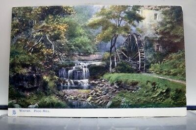 Scenic Whitby Rigg Mill Postcard Old Vintage Card View Standard Souvenir Postal