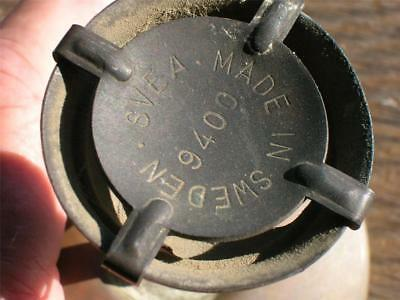 Vintage Camp/Backpacking Stove~SVEA 123~Single Burner~Sweden~Benzoline~Survival