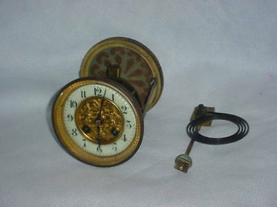 Antique Japy Feres Complete Movement,runs And Strikes Fine With Chimes.