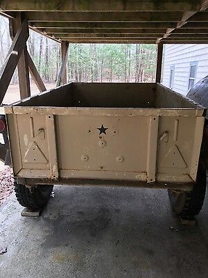 Russian Military Jeep Trailer