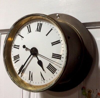 Antique Marine English Coventry Astral Clock