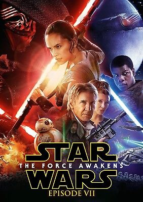 3 CENT DVD - Star Wars: The Force Awakens . . . *FREE Shipping on any 4 DVDs*