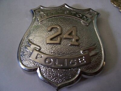 Police  Pittston   Pa  Obsolete Breast Badge