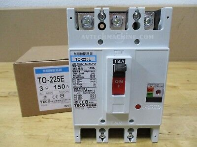 Teco Thermal-Magnetic Breaker TO-225E-3P150A 150A