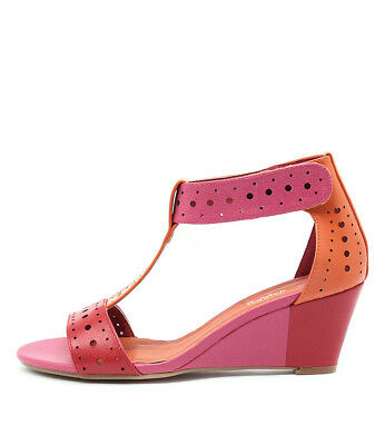 New I Love Billy Blanche Pink Bright Mul Womens Shoes Casual Sandals Heeled