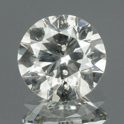 0.78 cts. CERTIFIED Round SI3 White-K Color Loose Natural Diamond 8651 GEM EDH