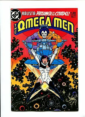 Omega men #3 1st app lobo near mint/mint 9.8 flawless