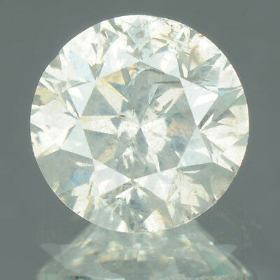 0.85 cts. CERTIFIED Round Brilliant Cut SI3 White-I Loose Natural Diamond 10136