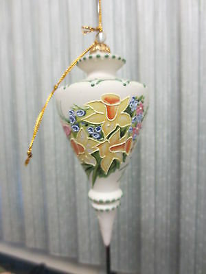 RHYN-RIVET Daring Daffodils FINE PORCELAIN AND ORNAMENT 2001 Floral Design