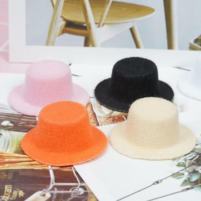 1:12 Dollhouse Miniature New Fashion Lady's Dolls Small Hat in 6 Colors Hot
