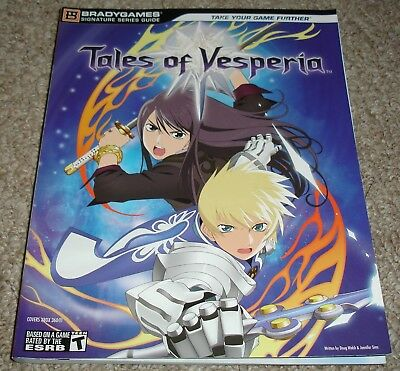 Tales of Vesperia Strategy Guide Used Very Good Condition