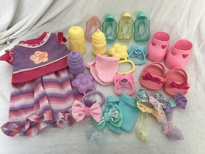 CPK CABBAGE PATCH KID Doll Pacifiers Bottles Shoes Clothes Large Mixed Lot Vtg