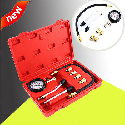 Petrol Engine Compression Tester Kit Set For Automotives and Motorcycles AU SHIP