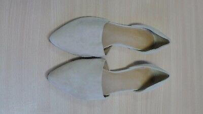 Vince leather flat shoes Made in Italy Size 7 1/2M EU 38