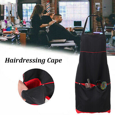 Hair Salon Cutting Barber Hairdressing Cape For Haircut Hairdresser Apron I0J6