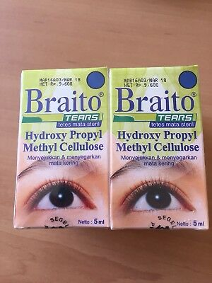 Eye Drops 'Braito Tears' x 6