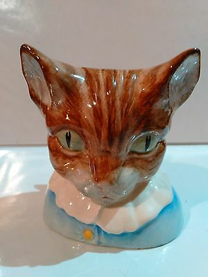 "@ rare ROYAL DOULTON STUDIO FIGURINE BEATRIX POTTER ""TOM KITTEN"" 2.75"" COPR 1988"