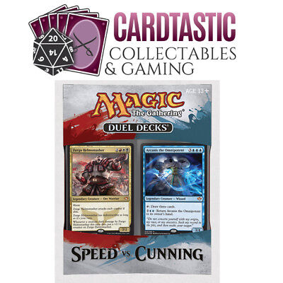Magic the Gathering Duel Decks: Speed vs Cunning
