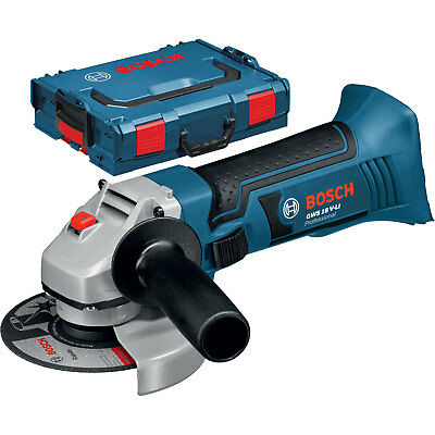 bosch gws 18 125 v li professional cordless angle grinder tool only l boxx picclick uk. Black Bedroom Furniture Sets. Home Design Ideas