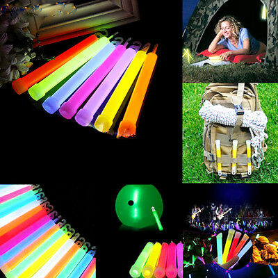Glow Sticks Light Stick Party Fun Camping Emergency Survival Lights Glowstick
