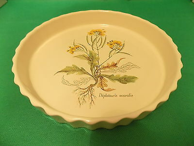 Poole Pottery '' Country Lane '' Flan / Quiche Dish