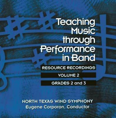 Teaching Music Through Perf Band Cd V2 Gr 2 & 3