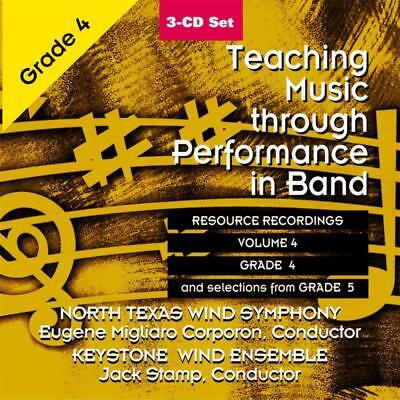 Teaching Music Through Perf Band Cd V4 Gr 4 & 5