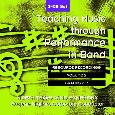 Teaching Music Through Perf Band Cd V5 Gr 2 & 3