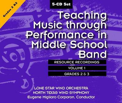 Teaching Music Through Perf Middle School Band Cd