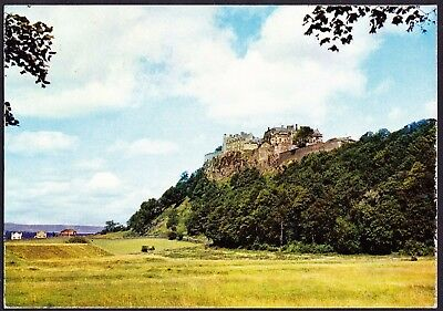 A0003cgt UK Stirling Castle from the West postcard
