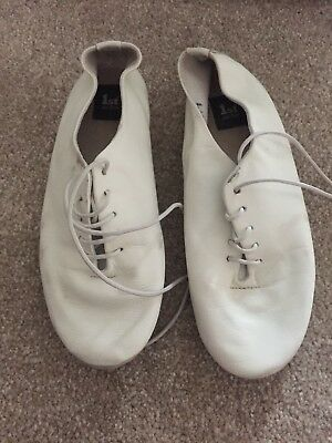 White Ballet Shoes Size 13
