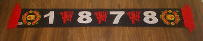 Manchester United Official 1878 Scarf