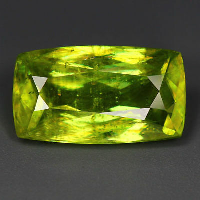 4.05 Cts_World Class Limited Edition_100 % Natural Titanite Green Sphene_Russia