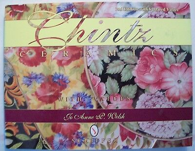 Antique Chintz Pottery Price Guide Collector's Book