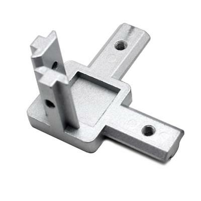 L type three dimensional connector 2020 profile right angle connector EUstandard