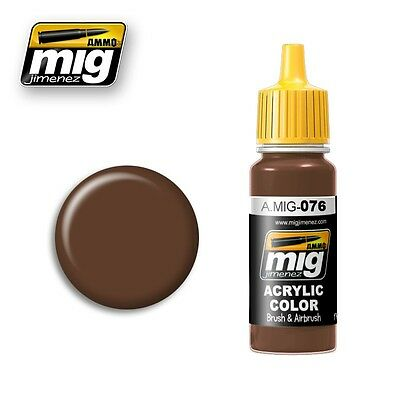 Ammo of Mig A.MIG-076 Brown Soil - Peinture Acrylique 17ml