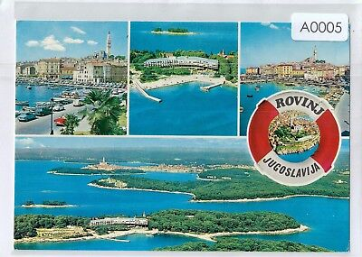 A0005pac Croatia ROVINJ multiview postcard
