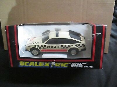 Scalextric C.362 Rover Police Car With Roof Light Boxed (Lot X)