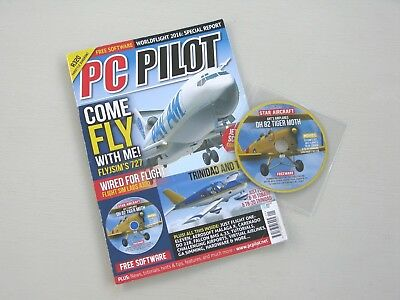 PC Pilot Magazine issue no 107  JAN/FEB2017 - WITH DISC