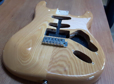 Stratocaster Body - Natural. Superb Condition