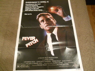 Ryan O'Neal - Fever Pitch Poster 1985