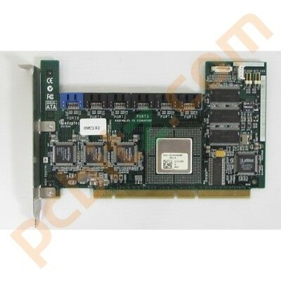 Adaptec 2610SA/64MB 6 Port SATA PCI-X RAID Controller Dell 0WC192