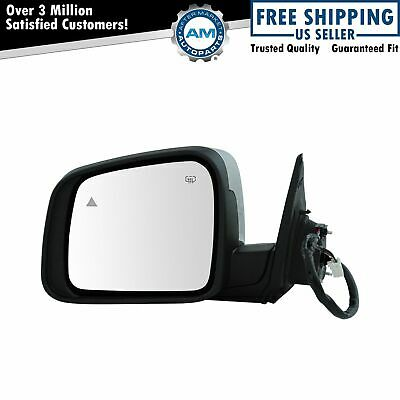 Side View Mirror Power Heated Memory Chrome Driver Left LH for Equinox Terrain