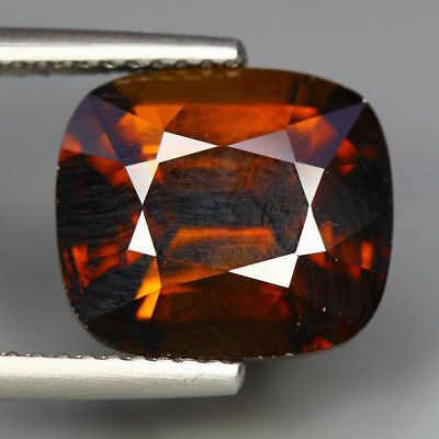 6.56 Cts_Marvelous Top Gemstone_100 % Natural Honey Orange Grossular Mali Garnet