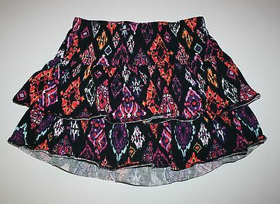 New Gymboree Tropical Print Tiered Ruffle Skirt Skort Size 6 Yr NWT Island Girl
