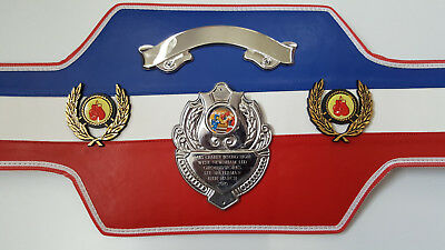 Union Jack Boxing Champion Belts